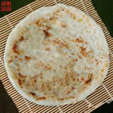 乾烙蔥油餅 -- 舒國治先生專文推薦 - 手擀麵皮,乾烙烹調,多層次內層,嚼勁十足